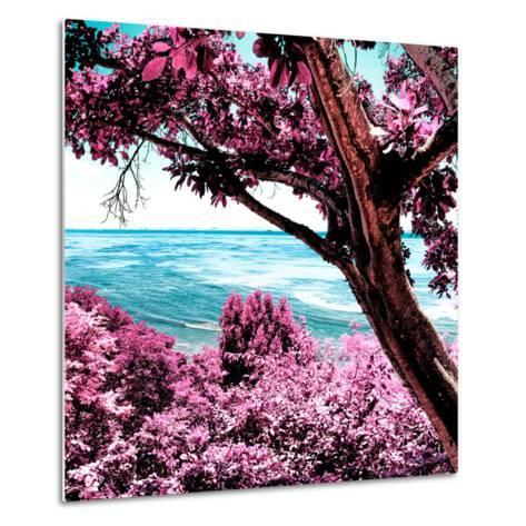 ¡Viva Mexico! Square Collection - Isla Mujeres View III-Philippe Hugonnard-Metal Print
