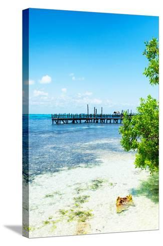 ?Viva Mexico! Collection - Peaceful Paradise III - Isla Mujeres-Philippe Hugonnard-Stretched Canvas Print
