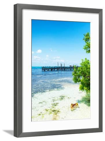 ?Viva Mexico! Collection - Peaceful Paradise III - Isla Mujeres-Philippe Hugonnard-Framed Art Print