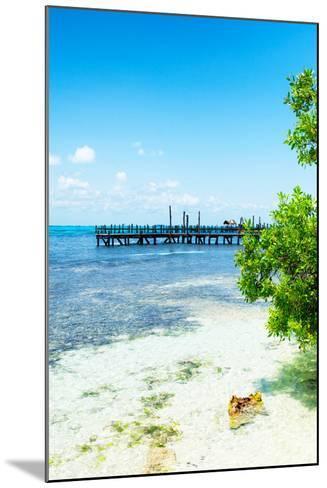 ?Viva Mexico! Collection - Peaceful Paradise III - Isla Mujeres-Philippe Hugonnard-Mounted Photographic Print