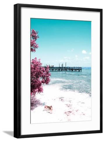 ?Viva Mexico! Collection - Peaceful Paradise IV - Isla Mujeres-Philippe Hugonnard-Framed Art Print