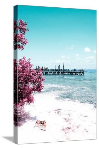 ?Viva Mexico! Collection - Peaceful Paradise IV - Isla Mujeres-Philippe Hugonnard-Stretched Canvas Print