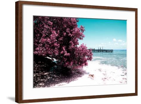 ¡Viva Mexico! Collection - Peaceful Paradise II - Isla Mujeres-Philippe Hugonnard-Framed Art Print