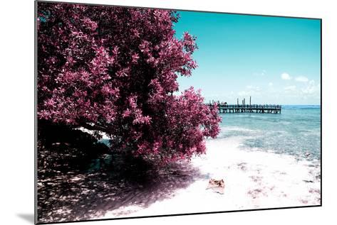 ¡Viva Mexico! Collection - Peaceful Paradise II - Isla Mujeres-Philippe Hugonnard-Mounted Photographic Print