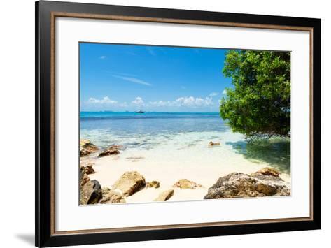 ¡Viva Mexico! Collection - Caribbean Coastline - Isla Mujeres-Philippe Hugonnard-Framed Art Print