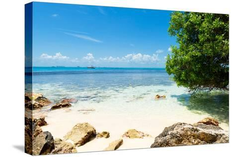 ¡Viva Mexico! Collection - Caribbean Coastline - Isla Mujeres-Philippe Hugonnard-Stretched Canvas Print