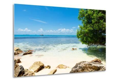 ¡Viva Mexico! Collection - Caribbean Coastline - Isla Mujeres-Philippe Hugonnard-Metal Print