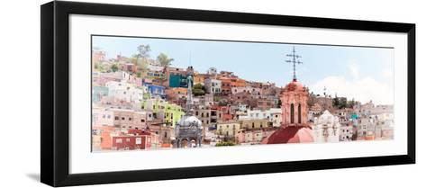 ¡Viva Mexico! Panoramic Collection - City of Colors Guanajuato II-Philippe Hugonnard-Framed Art Print