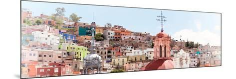 ¡Viva Mexico! Panoramic Collection - City of Colors Guanajuato II-Philippe Hugonnard-Mounted Photographic Print