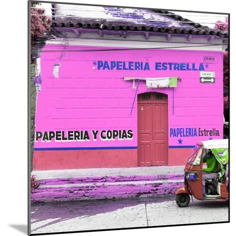 ¡Viva Mexico! Square Collection - Pink Papeleria-Philippe Hugonnard-Mounted Photographic Print