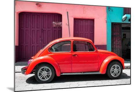 ?Viva Mexico! Collection - The Red Beetle Car-Philippe Hugonnard-Mounted Photographic Print