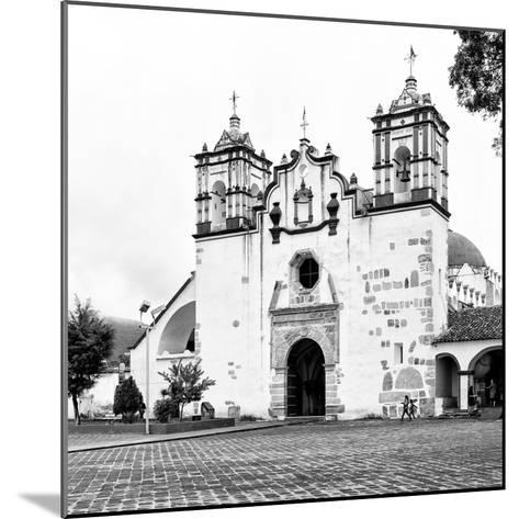 ?Viva Mexico! Square Collection - Mexican White Church II-Philippe Hugonnard-Mounted Photographic Print