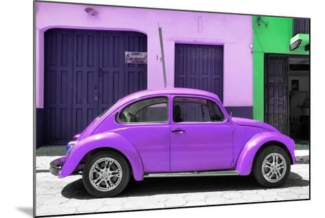 ¡Viva Mexico! Collection - The Purple Beetle Car-Philippe Hugonnard-Mounted Photographic Print