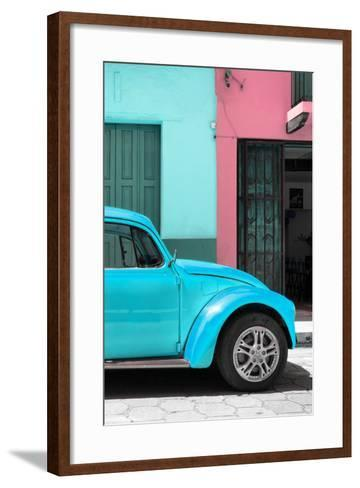 ?Viva Mexico! Collection - The Turquoise Beetle-Philippe Hugonnard-Framed Art Print
