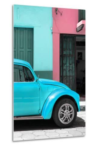 ?Viva Mexico! Collection - The Turquoise Beetle-Philippe Hugonnard-Metal Print