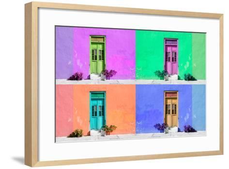 ¡Viva Mexico! Collection - Wall Color II - Campeche-Philippe Hugonnard-Framed Art Print