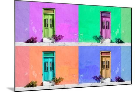 ¡Viva Mexico! Collection - Wall Color II - Campeche-Philippe Hugonnard-Mounted Photographic Print