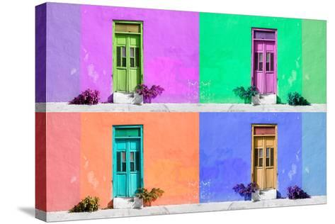 ¡Viva Mexico! Collection - Wall Color II - Campeche-Philippe Hugonnard-Stretched Canvas Print