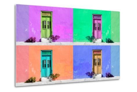 ¡Viva Mexico! Collection - Wall Color II - Campeche-Philippe Hugonnard-Metal Print