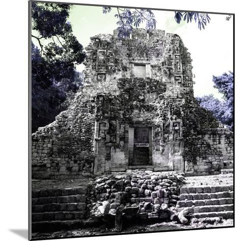 ¡Viva Mexico! Square Collection - Mayan Ruins of Campeche IV-Philippe Hugonnard-Mounted Photographic Print