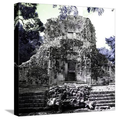 ¡Viva Mexico! Square Collection - Mayan Ruins of Campeche IV-Philippe Hugonnard-Stretched Canvas Print