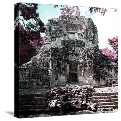 ¡Viva Mexico! Square Collection - Mayan Ruins of Campeche III-Philippe Hugonnard-Stretched Canvas Print