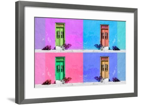 ?Viva Mexico! Collection - Wall Color III - Campeche-Philippe Hugonnard-Framed Art Print
