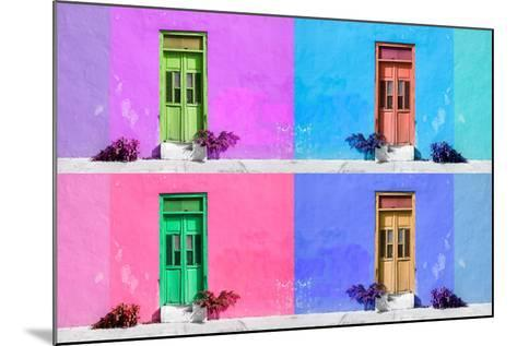 ?Viva Mexico! Collection - Wall Color III - Campeche-Philippe Hugonnard-Mounted Photographic Print