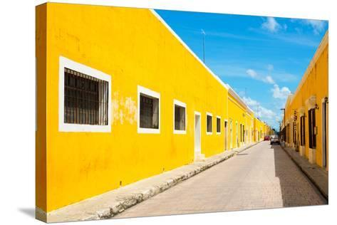 ?Viva Mexico! Collection - Izamal the Yellow City-Philippe Hugonnard-Stretched Canvas Print