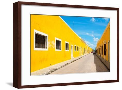 ?Viva Mexico! Collection - Izamal the Yellow City-Philippe Hugonnard-Framed Art Print