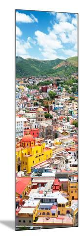 ¡Viva Mexico! Panoramic Collection - Guanajuato Colorful Cityscape V-Philippe Hugonnard-Mounted Photographic Print