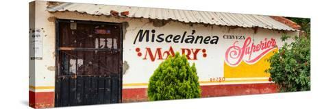¡Viva Mexico! Panoramic Collection - Miscelanea Mary II-Philippe Hugonnard-Stretched Canvas Print