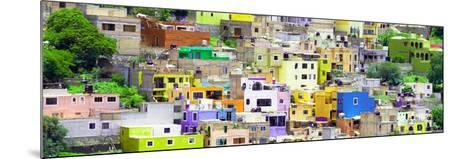 ¡Viva Mexico! Panoramic Collection - Guanajuato Colorful City XV-Philippe Hugonnard-Mounted Photographic Print