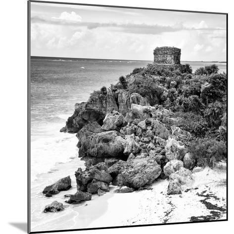 ¡Viva Mexico! Square Collection - Tulum Ruins along Caribbean Coastline XII-Philippe Hugonnard-Mounted Photographic Print