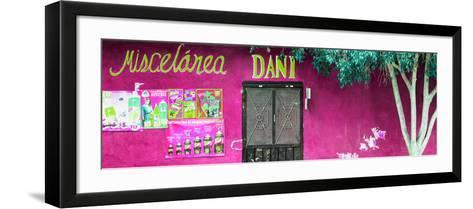 ¡Viva Mexico! Panoramic Collection - Deep Pink Dani Supermarket-Philippe Hugonnard-Framed Art Print
