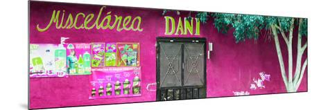 ¡Viva Mexico! Panoramic Collection - Deep Pink Dani Supermarket-Philippe Hugonnard-Mounted Photographic Print
