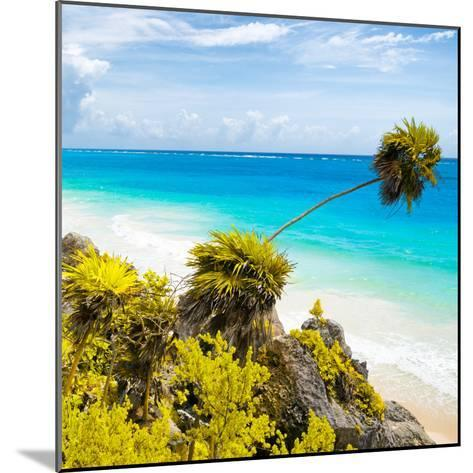 ¡Viva Mexico! Square Collection - Tulum Caribbean Coastline II-Philippe Hugonnard-Mounted Photographic Print