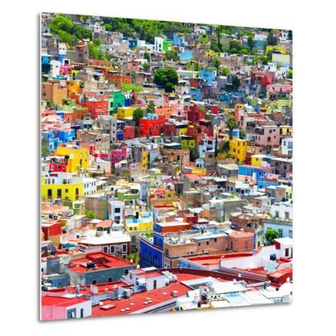 ¡Viva Mexico! Square Collection - Colorful Guanajuato IX-Philippe Hugonnard-Metal Print