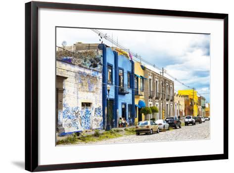 ?Viva Mexico! Collection - Street Scene-Philippe Hugonnard-Framed Art Print