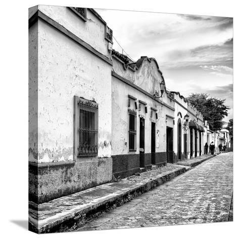 ¡Viva Mexico! Square Collection - Street Scene in San Cristobal de Las Casas I-Philippe Hugonnard-Stretched Canvas Print