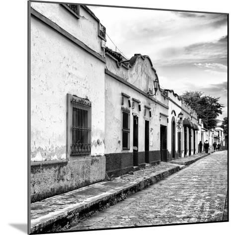 ¡Viva Mexico! Square Collection - Street Scene in San Cristobal de Las Casas I-Philippe Hugonnard-Mounted Photographic Print