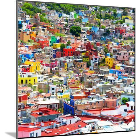 ¡Viva Mexico! Square Collection - Colorful Guanajuato IX-Philippe Hugonnard-Mounted Photographic Print