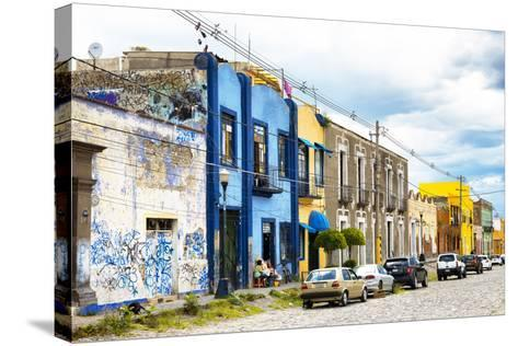 ?Viva Mexico! Collection - Street Scene-Philippe Hugonnard-Stretched Canvas Print
