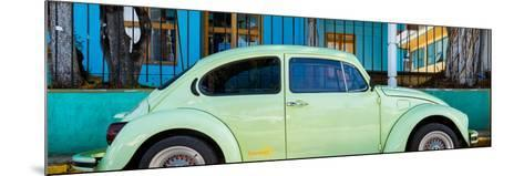 """¡Viva Mexico! Panoramic Collection - """"Summer"""" VW Beetle Car-Philippe Hugonnard-Mounted Photographic Print"""