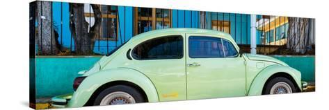 """¡Viva Mexico! Panoramic Collection - """"Summer"""" VW Beetle Car-Philippe Hugonnard-Stretched Canvas Print"""