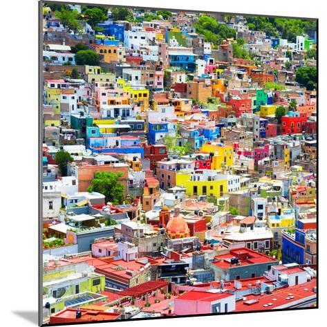 ¡Viva Mexico! Square Collection - Colorful Guanajuato VIII-Philippe Hugonnard-Mounted Photographic Print