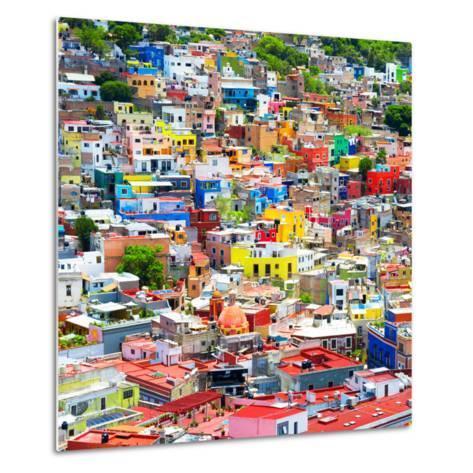 ¡Viva Mexico! Square Collection - Colorful Guanajuato VIII-Philippe Hugonnard-Metal Print