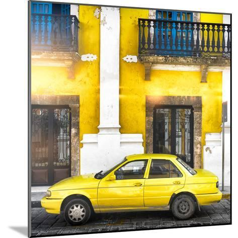 ¡Viva Mexico! Square Collection - Yellow Campeche II-Philippe Hugonnard-Mounted Photographic Print