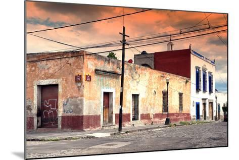 ?Viva Mexico! Collection - Mexican Street Scene at Sunset-Philippe Hugonnard-Mounted Photographic Print