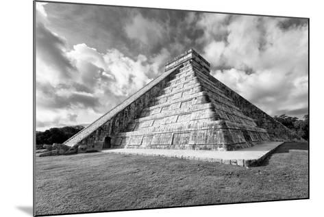 ?Viva Mexico! B&W Collection - Chichen Itza Pyramid XIX-Philippe Hugonnard-Mounted Photographic Print